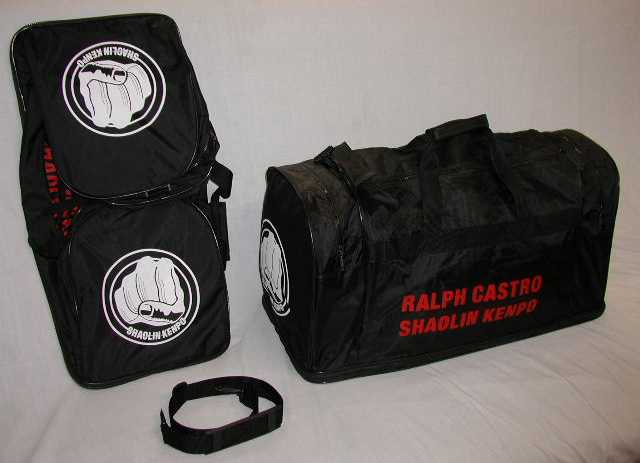 [Black Equipment Bag]